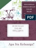 kewangan dalam kekeluargaan islam