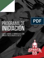 Programa de iniciación