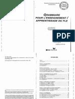 Salins Geneviève-Dominique de. - Grammaire pour l'enseignement, apprentissage du FLE.pdf