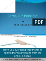 Bernoulli s Principle