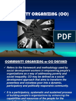 Community Organizing Process