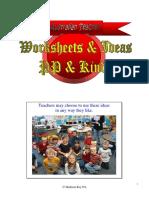 Worksheets Ideas Designed Pp Kindy2