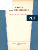 WHENCE THE DIFFERENCES? - A REPLY TO THOREZ AND OTHER COMRADES, 1963
