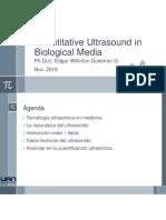 Quantitative ultrasound