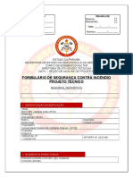 Formulario PCI 9.0 Primeira Etapa