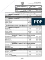FCJS - Horarios 2º a 6º Año Abogacía