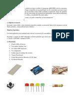 Secuancia de Leds Con Arduino