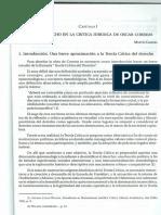 Poder y Derecho en La Critica Jurídica de Oscar Correas, Martín Cabrera
