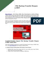 Cara Import File Backup Transfer Respon UNBK Tahun 2019.docx