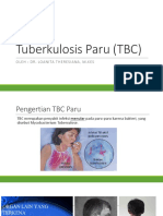 Tuberkulosis Paru (TBC)
