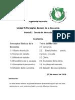 Economía Unidad 1 y 2