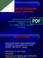 2d) Patofisiologi Sesak Napas by dr. Aminuddin.pptx
