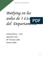 Bullying Investigación
