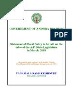 Andhra Pradesh Budget Analysis 2018-19