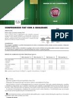 Informações Gerais de Manutenção Do Fiat Palio 98 1.0,8 Valvulas Motor Fiasa
