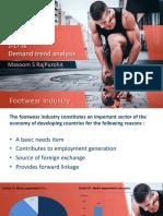 Demand trend analysis