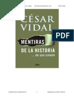 Mentiras de la historia - Cesar Vidal.pdf