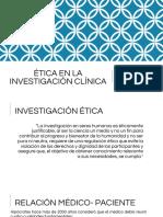 Ética en La Investigación Clínica.pptx