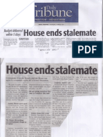 Daily Tribune, Mar. 21, 2019, Budget delivered wihtin 5 days House ends stalemate.pdf