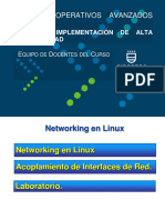Networking en Linux