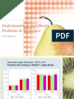 Masalah KEK dan Obesitas di Tempat Kerja.pptx