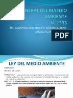 Ley General Del Maedio Ambiente