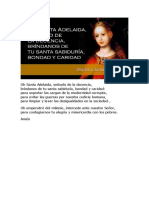 Oracion Santa Adelaida