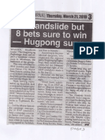 Peoples Journal, Mar. 21, 2019, No landslide but 8 bets sure to win - Hugpong survey.pdf