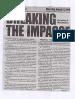 Peoples Journal, Mar. 21, 2019, Breaking the Impasse.pdf