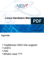 Linux Hardware Management