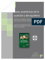 Bases Anatómicas de La Audición y El Equilibrio - L. Vieira (F. Matamala) - Copia