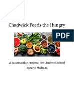 chadwick feeds the hungry