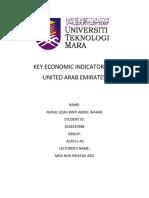 KEY ECONOMIC INDICATORS OF UAE.docx