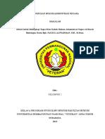Makalah Kapita Selekta Hukum Administrasi Negara Sanksi Administrasi Dalam Penerapan Izin Lingkungan