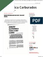 EP Elétrica Carburados_ Ignição Eletrônica para seu carro_faça você mesmo 1.pdf