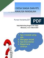 Materi Diskusi Dan RTL Pelatihan Desi Kelor 2016