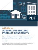 A Guide to Australian Building Product Conformity
