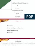 Stabilization of Marine Clay Soil Using Polyurethane