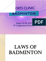 LECTURE - Laws of Badminton (1).pptx