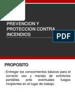 Prevencion y Proteccion Contra Incendios