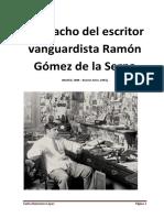 Despacho del escritor vanguardista Ramón Gómez de la Serna.docx