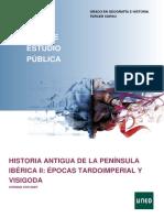 Guia Historia Antigua Península Ibérica UNED