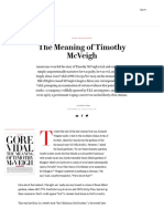 The Meaning of Timothy McVeigh, Gore Vidal