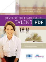[Outstanding] [SHRM] Developing-Leadership-Talent.pdf