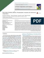 Polar Lipid of Donkey Milk Fat Phospholipid, Ceramide and Cholesterol Composition