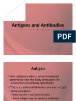 Antigen antibody & reactions