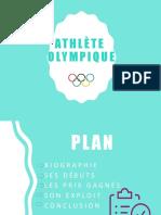 Athlète Olympique