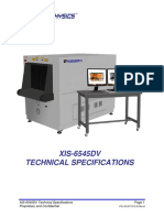 Xis 6545dv Tech Spec