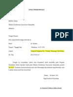 Surat Permohonan Dekan