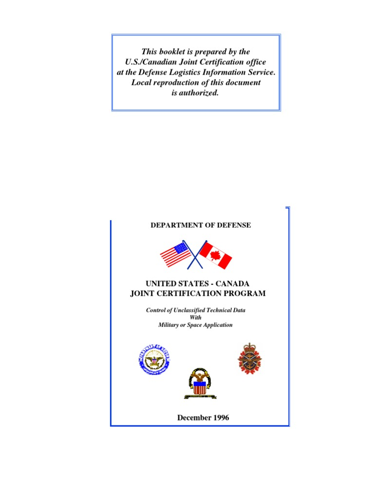 Jco Pamphlet Classified Information United States Department Of
